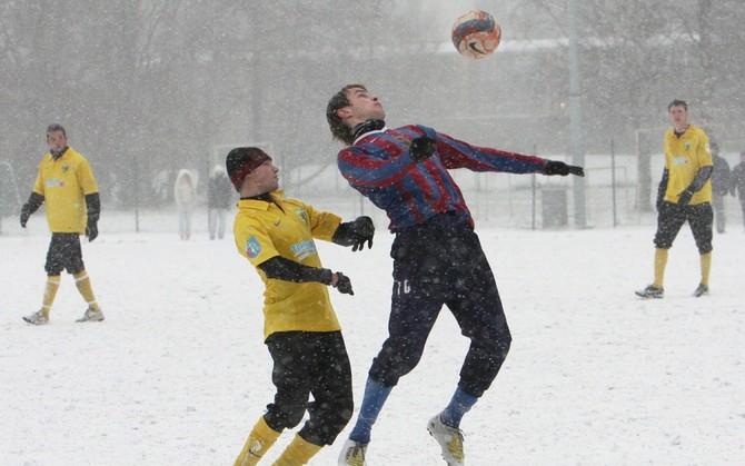 Football in Winter