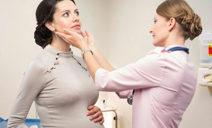 پرکاری تیروئید در بارداری