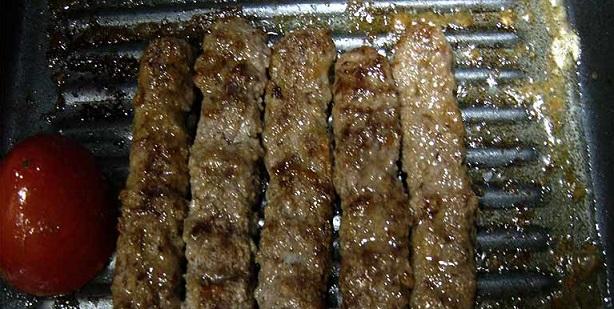 طرز تهیه کباب کوبیده در ماهیتابه