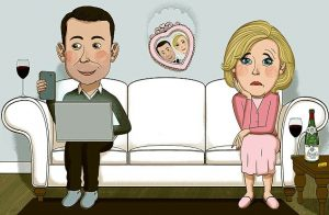استرس رابطه زناشویی