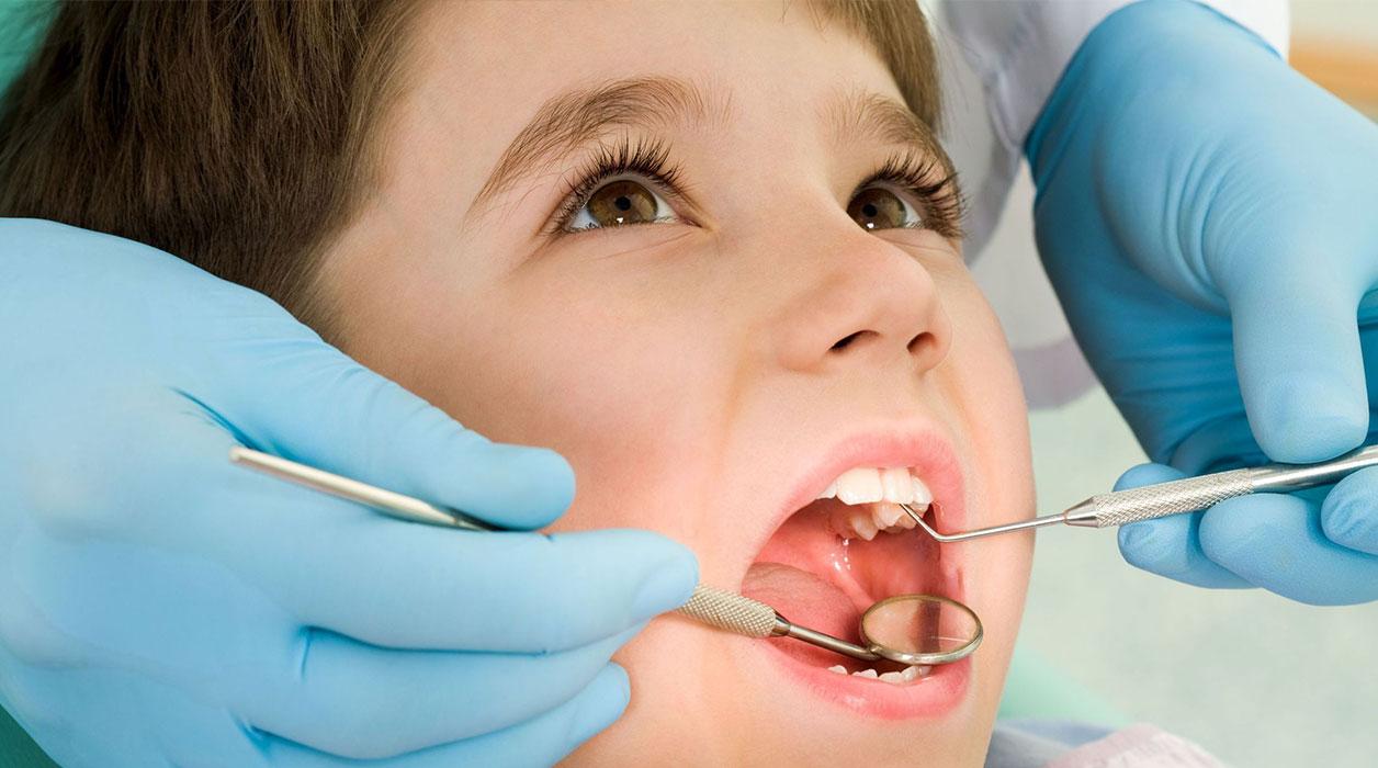 دندان های شیری کودکان