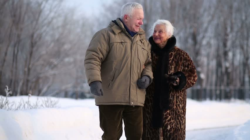 زمستان با سالمندان چه می کند