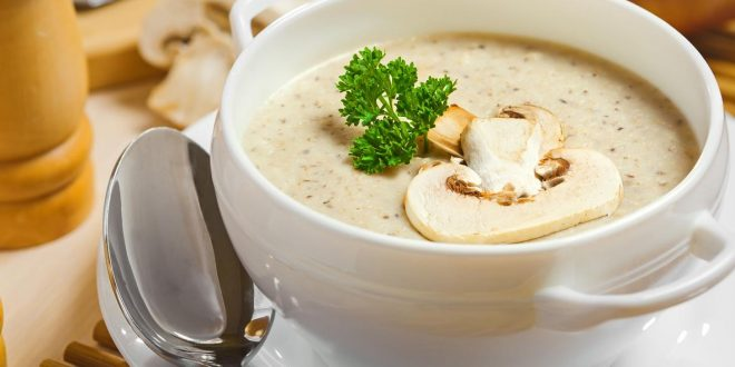 طرز تهیه سوپ شیر و خامه